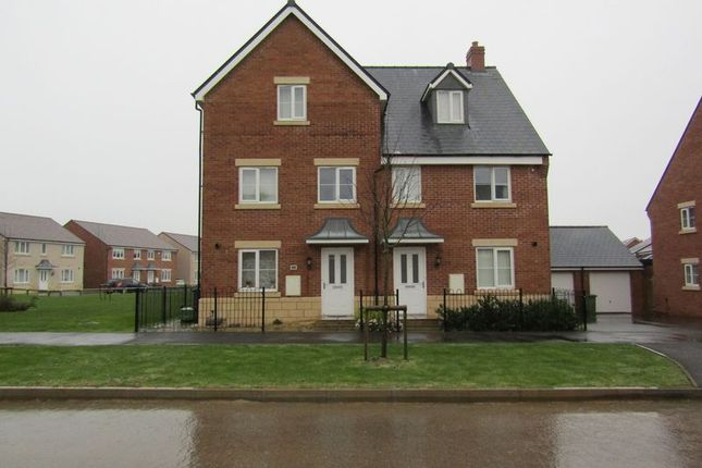Thumbnail Town house to rent in Vale Road, Bishops Cleeve, Cheltenham