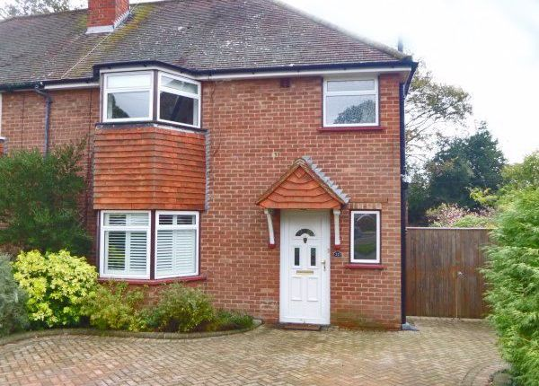Thumbnail Semi-detached house to rent in Windle Close, Windlesham