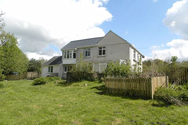 Thumbnail Detached house for sale in Llanpumsaint, Carmarthen