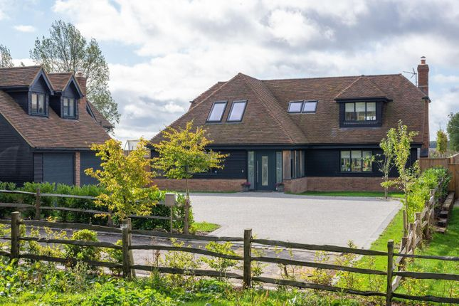 Thumbnail Detached house for sale in Woodland View, Buck Street, Challock, Ashford