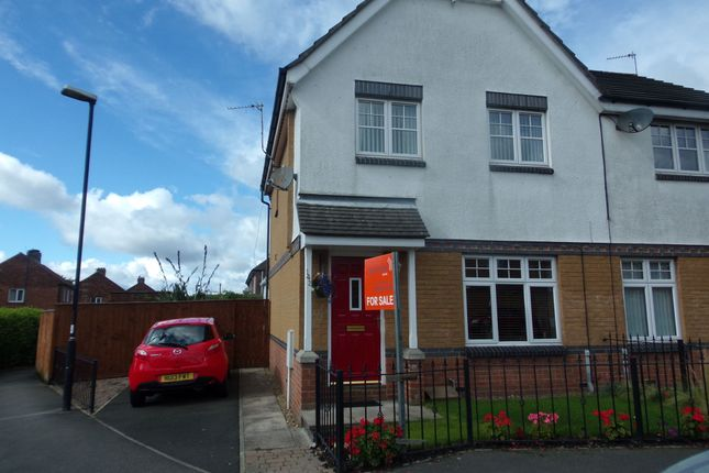 Thumbnail Semi-detached house for sale in Greenhills, Killingworth, Newcastle Upon Tyne