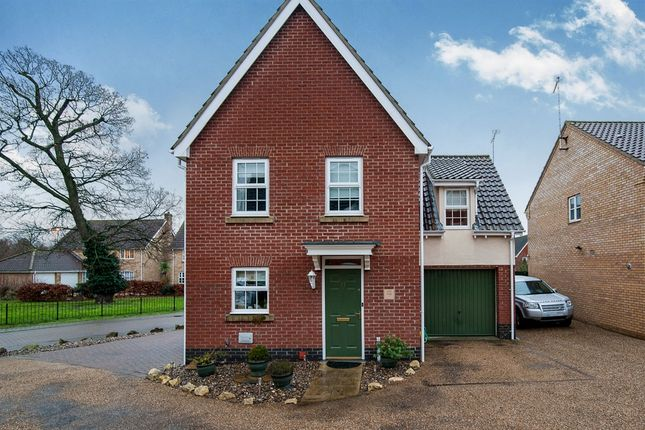 Thumbnail Detached house for sale in Pennycress Drive, Thetford