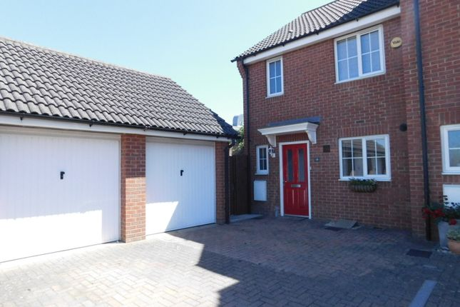 Thumbnail End terrace house for sale in St. Johns Road, Arlesey, Beds