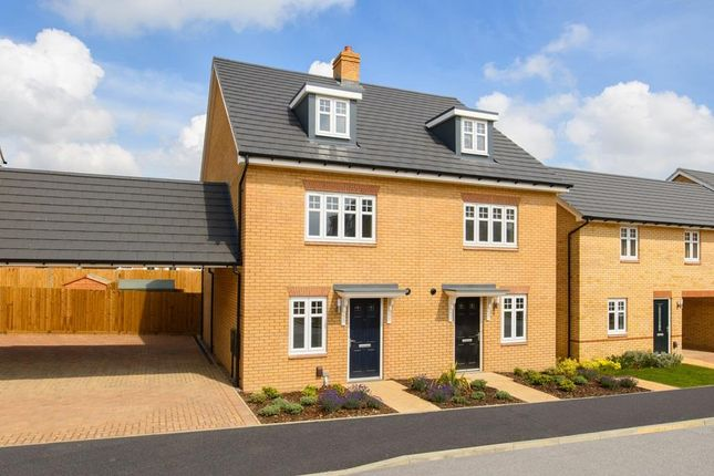 """Thumbnail Semi-detached house for sale in """"Queensville"""" at Southern Cross, Wixams, Bedford"""