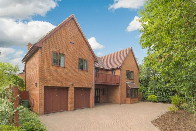 Thumbnail Detached house for sale in Livesey Hill, Shenley Lodge, Milton Keynes