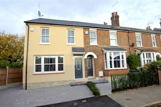 Thumbnail End terrace house to rent in Chapel Road, Epping