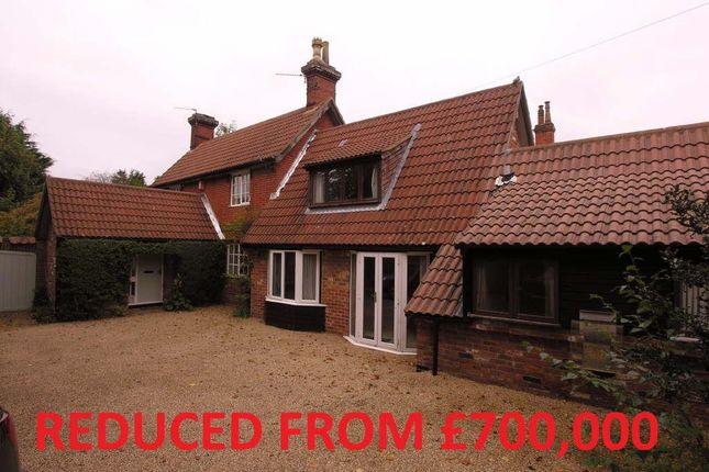 Thumbnail Detached house for sale in Church Lane, Wroxham, Norwich