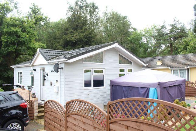 Thumbnail Mobile/park home for sale in Woodlands Park, Crumlin Road, Pontypool