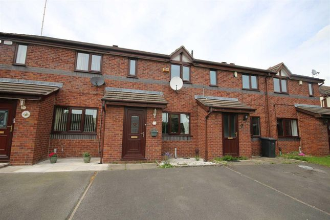 Thumbnail Terraced house to rent in Castlerea Close, Eccles, Manchester
