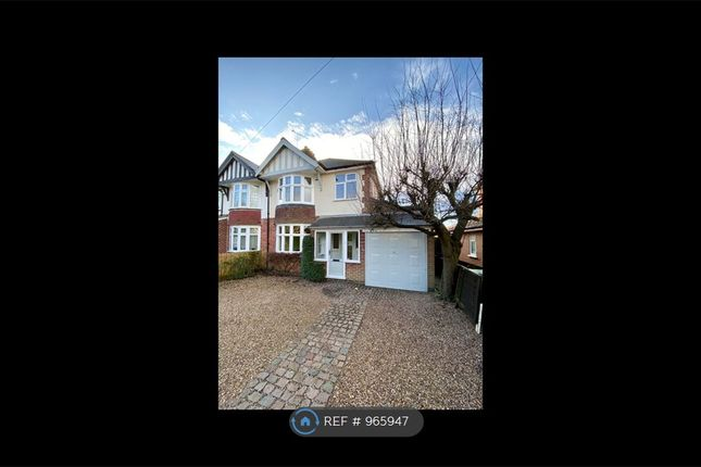 3 bed semi-detached house to rent in Glen Road, Oadby, Leicester LE2