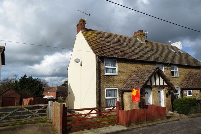 Thumbnail End terrace house to rent in Sandwich Road, Eythorne, Dover