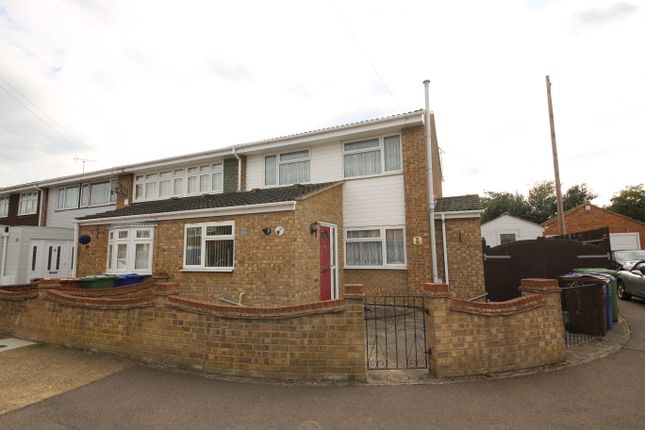 Thumbnail End terrace house for sale in Solway, East Tilbury, Tilbury