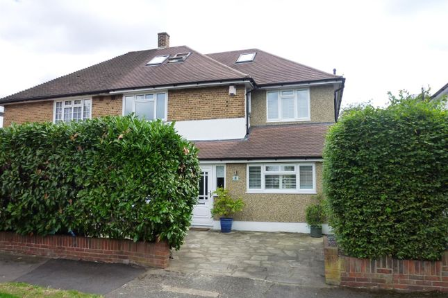 Thumbnail Semi-detached house for sale in Timbercroft, Ewell, Epsom
