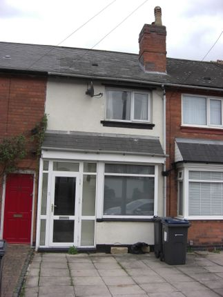 Thumbnail Terraced house to rent in Coles Lane, Sutton Coldfield
