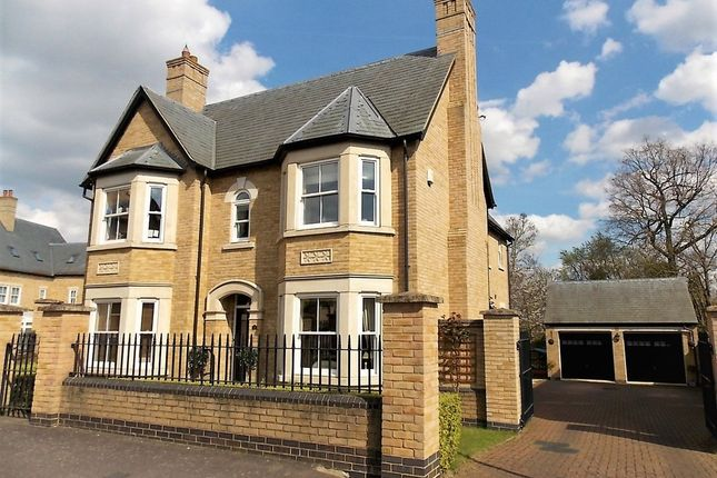 Thumbnail Detached house for sale in Fleming Drive, Fairfield Park, Stotfold, Herts