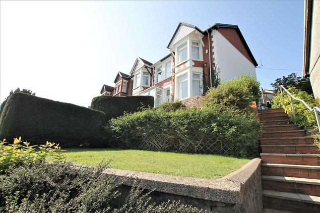 Thumbnail Semi-detached house for sale in Aberrhondda Road, Porth