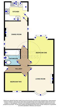 Floorplan of Grosvenor Gardens, Normanby, Middlesbrough TS6