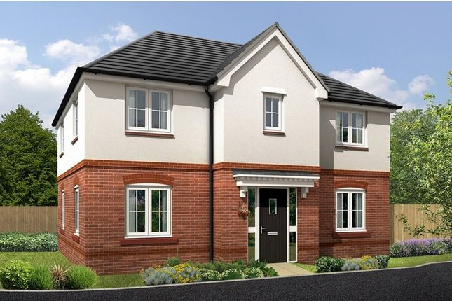 """Thumbnail Detached house for sale in """"Brandon"""" at Croxton Lane, Middlewich"""