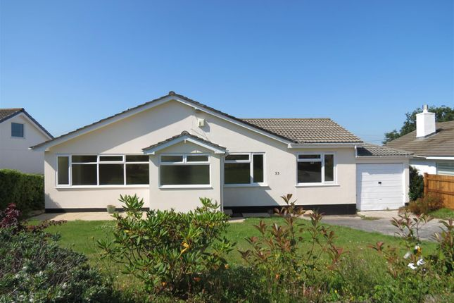 Thumbnail Detached bungalow for sale in Chatsworth Way, Carlyon Bay, St. Austell
