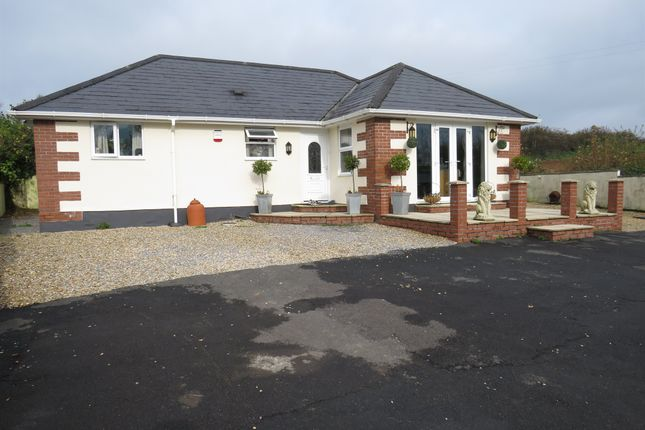 Thumbnail Detached bungalow for sale in Preston Gardens, Westlake, Ivybridge