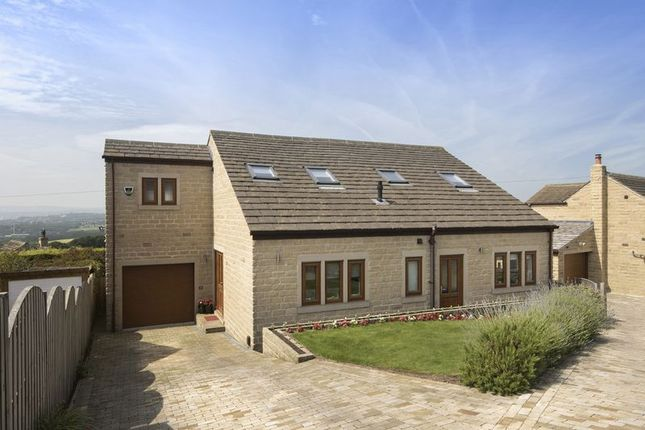 Thumbnail Detached house for sale in Littlethorpe Hill, Hartshead, Liversedge