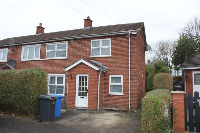 Thumbnail Semi-detached house to rent in Cloghan Park, Belfast