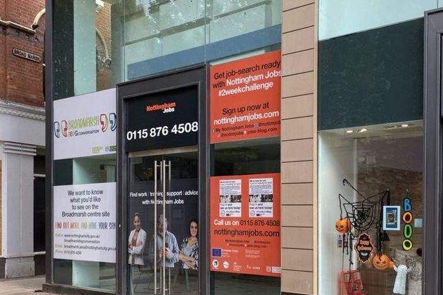 Thumbnail Retail premises to let in 31 Lister Gate, 31 Lister Gate, Nottingham