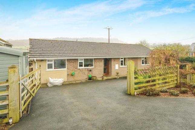 3 bed detached bungalow for sale in Hundred House, Llandrindod Wells