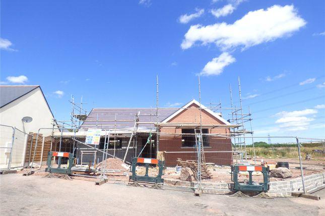 Thumbnail Detached bungalow for sale in Plot 8, Bowett Close, Hundleton, Pembroke