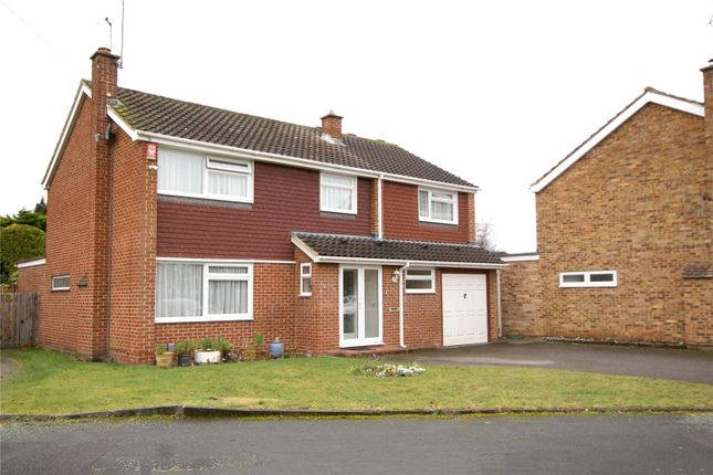 Thumbnail Detached house for sale in Amberley Drive, Woodham, Surrey
