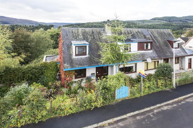 Thumbnail Semi-detached house for sale in Braeside Road, Ballinluig, Pitlochry