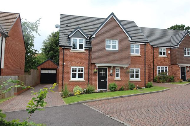 Thumbnail Detached house for sale in Old Marl Close, Four Oaks