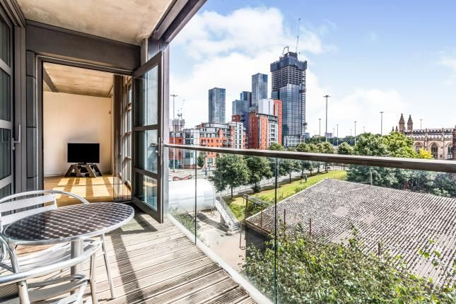 Balcony of Worsley Street, Manchester, Greater Manchester M15
