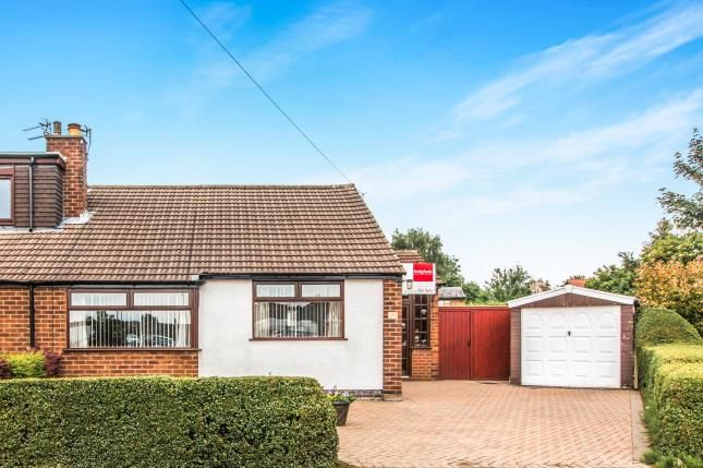 Thumbnail Bungalow for sale in Alderley Road, Thelwall, Warrington, Cheshire