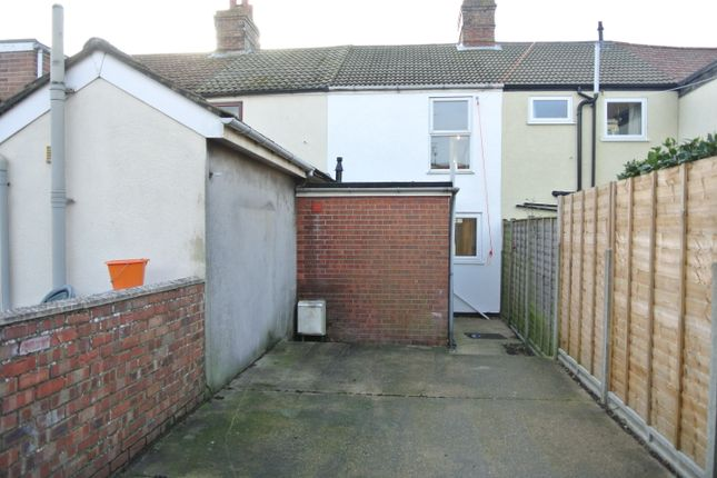 External Rear of Wellington Cottages, Lowestoft NR32