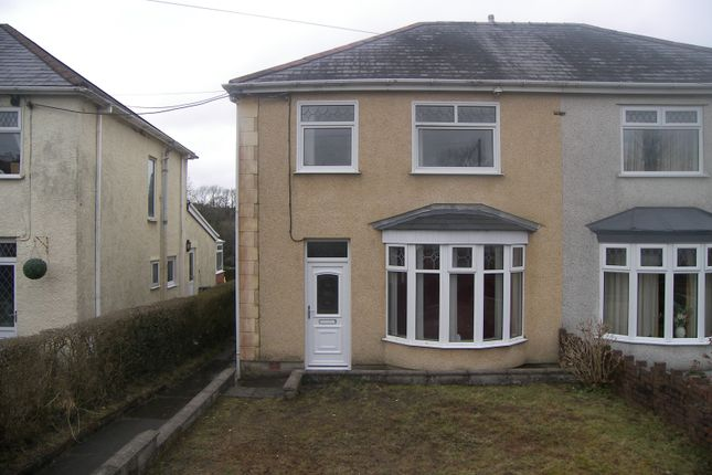 Thumbnail Semi-detached house for sale in Dulais Road, Seven Sisters, Neath