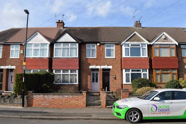 Thumbnail Terraced house to rent in Eversleigh Road, Coundon, Coventry