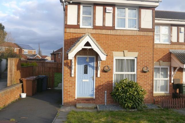 Thumbnail Terraced house to rent in Redewood Close, Slatyford, Newcastle Upon Tyne