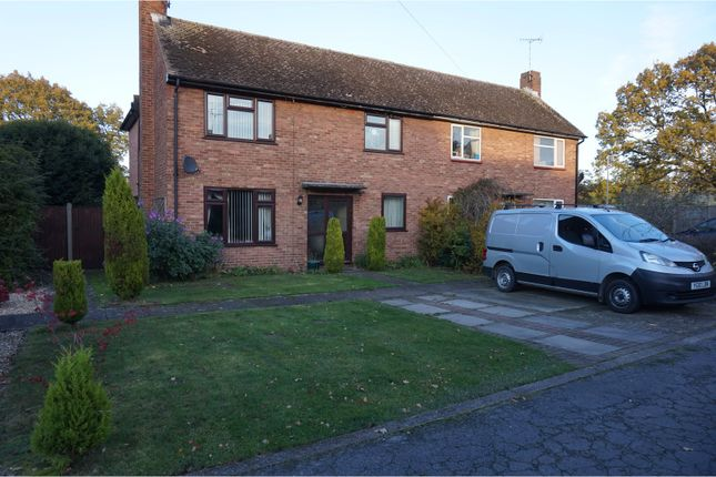 Thumbnail Semi-detached house to rent in Bracken Road, Lincoln
