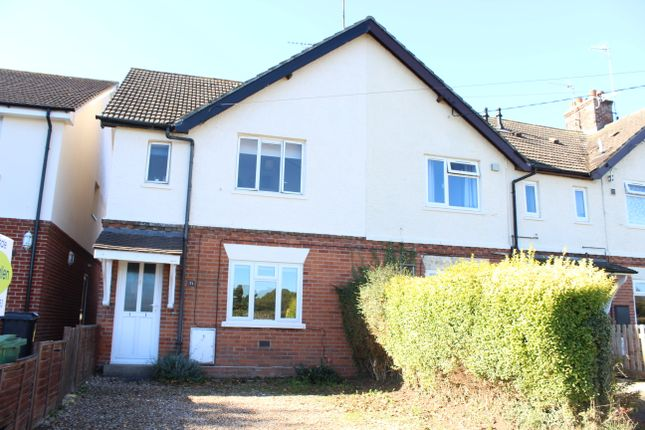 Thumbnail Semi-detached house for sale in Bockhampton Road, Lambourn