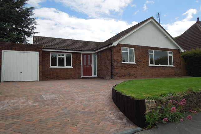 Thumbnail Detached bungalow for sale in Brookside, Tupsley, Hereford
