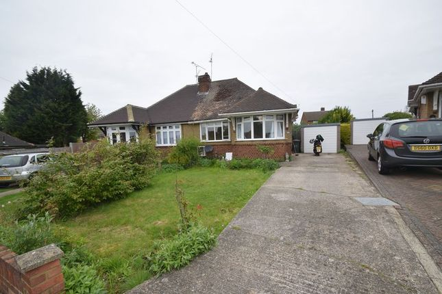 Thumbnail Bungalow to rent in Poplars Close, Luton