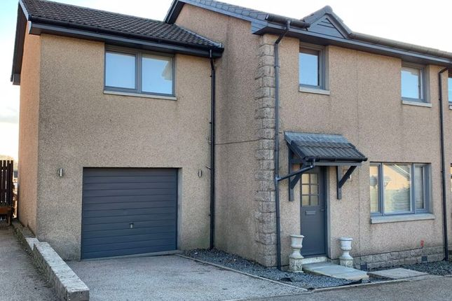 Thumbnail Semi-detached house for sale in Sinclair Crescent, Newmachar, Aberdeen
