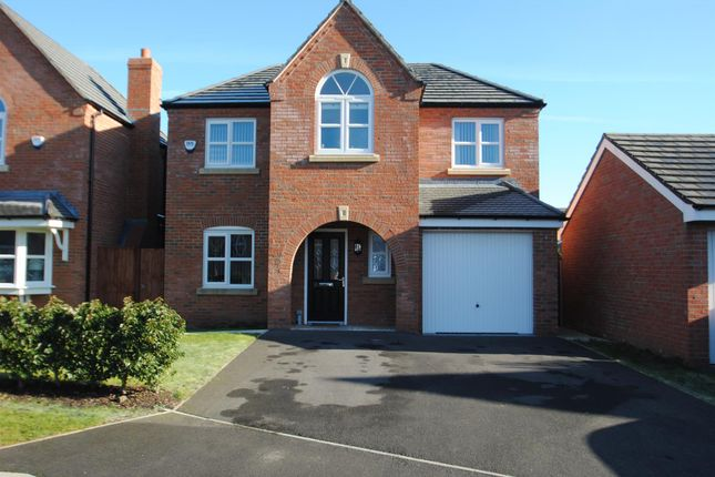 Thumbnail Detached house for sale in Edgewater Place, Latchford, Warrington