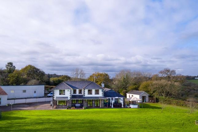 Thumbnail Detached house for sale in Burr Hill, Carkeel, Saltash, Cornwall