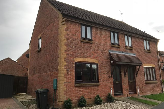 Thumbnail Semi-detached house to rent in Spencer Way, Stowmarket