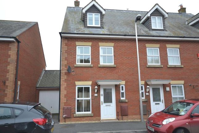 Thumbnail Terraced house to rent in Norman Crescent, Budleigh Salterton, Devon