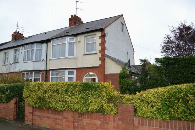 Thumbnail End terrace house for sale in Beech Avenue, Spinney Hill, Northampton