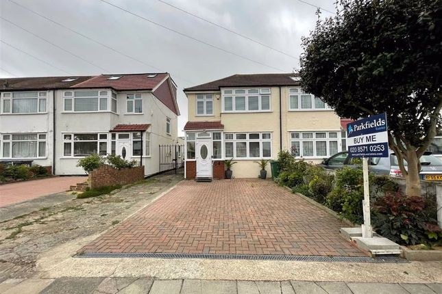 3 bed end terrace house to rent in St. Josephs Drive, Southall, Middlesex UB1