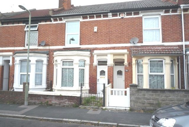 Thumbnail Terraced house to rent in Kings Road, Gosport